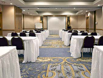 Ramada Blue Ridge has 1,680 square feet of flexible meeting and banquet space.